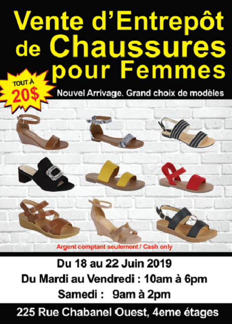 vente chaussures62019