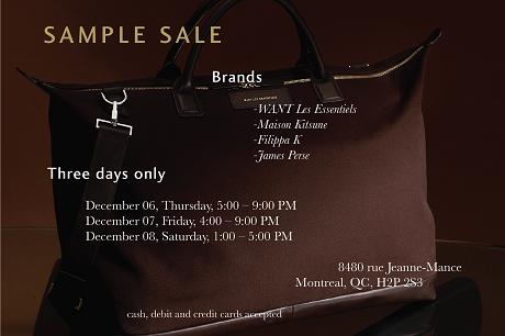 WA Sample Sale Flyer DEC2018 01